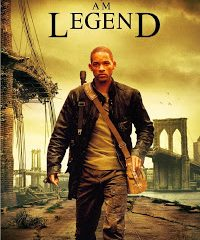 I Am Legend (2007) BRRip 420p 300MB Dual Audio