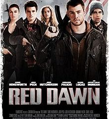 Red Dawn (2012) BRRip 420p 300MB Dual Audio