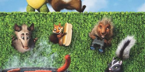 Over the Hedge (2006) BRRip 480p 250MB Dual Audio