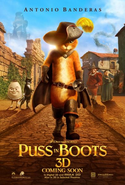 Puss In Boots (2011) English Movie BRRip 720P
