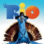 Rio (2011) BRRip 420p 300MB Dual Audio