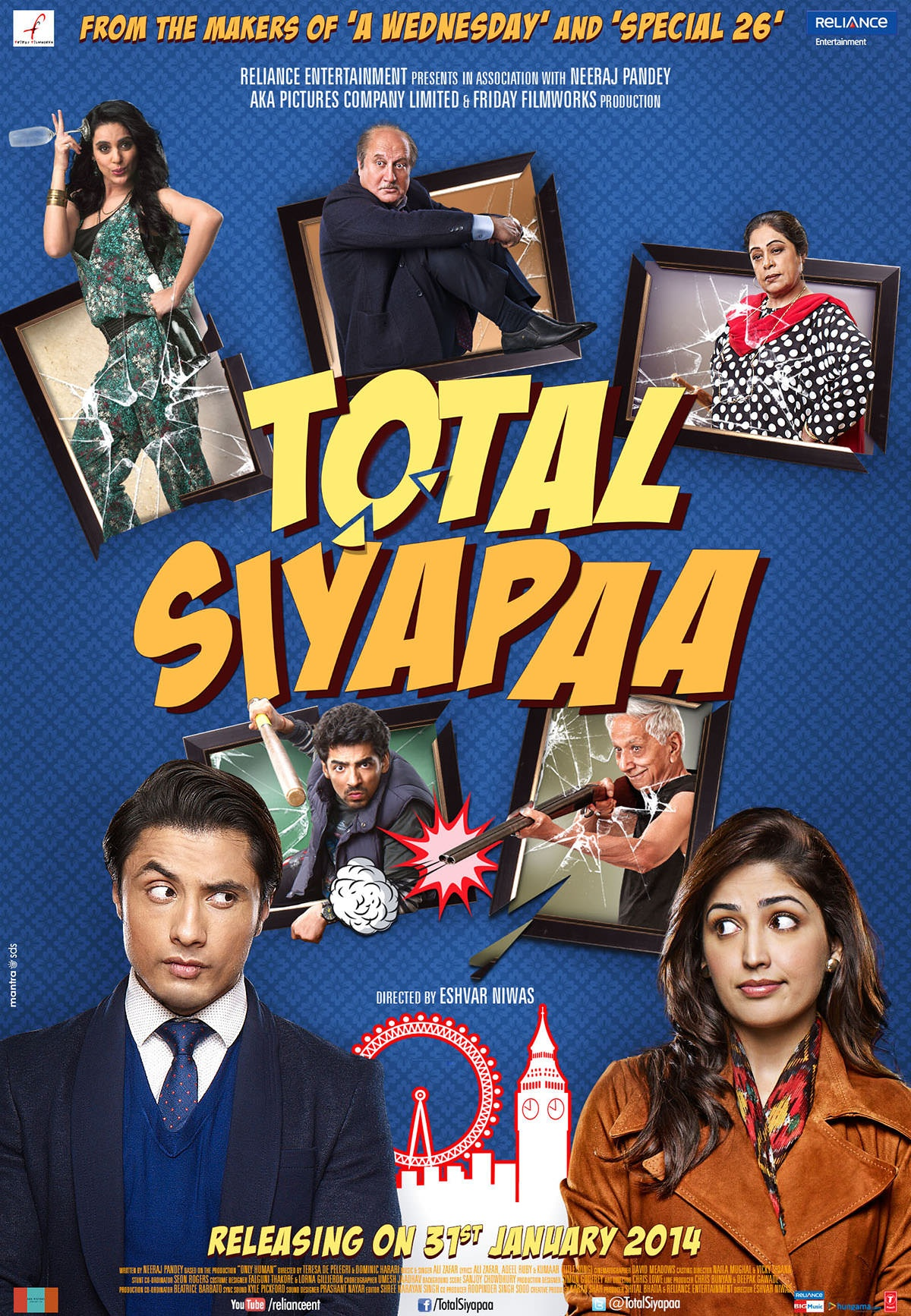 Total Siyapaa (2014) Watch Online Hindi Movies for free in HD 720p