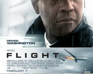 Flight (2012) In Hindi Dubbed Free Download In HD 720p 250MB