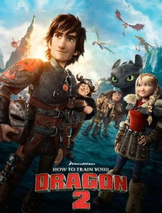 How to Train Your Dragon 2 (2014) Dual Audio Free Download 480p 150MB