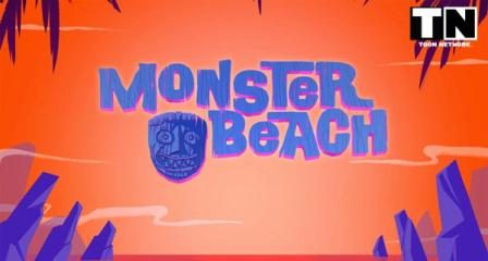 Monster Beach (2014) Hindi Dubbed Cartoon Download 200MB
