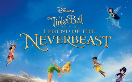 Tinker Bell and the Legend of the NeverBeast (2014) 200MB 480p