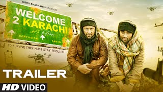 Welcome To Karachi (2015) Hindi Movie Official Trailer 720P
