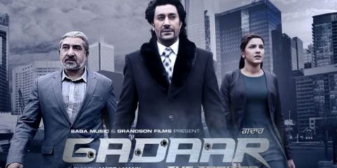 Gadaar-The Traitor (2015) SCamRip X264 Punjabi 400MB