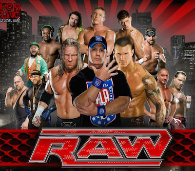 WWE Monday Night Raw 11 April 2016 HDTV Download 400MB
