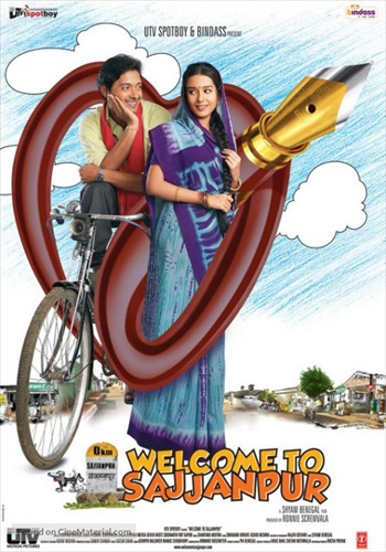 Welcome To Sajjanpur 2008 Hindi HDRIP 200MB