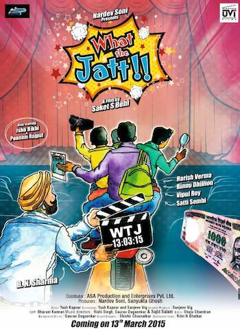 What The Jatt 2015 Punjabi Movie HDRIP 720p Direct Link 400MB