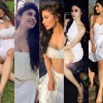 5 times Mouni Roy set the temperatures soaring with her pristine white ensembles