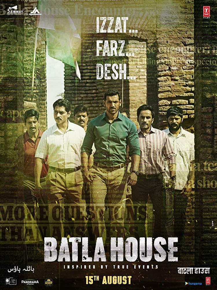 Batla House 2019 Hindi Movie 444MB pDVDRip